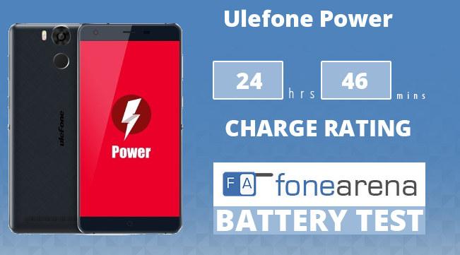 Ulefone Power FA One Charge Rating