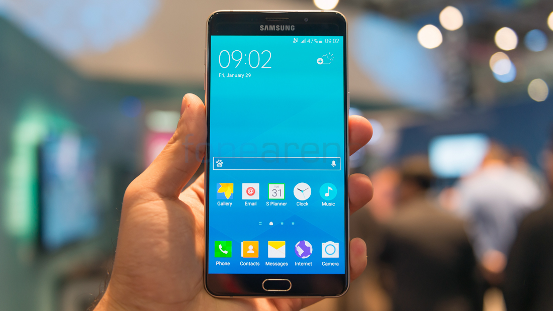 Samsung Galaxy A9 Hands On and Photo Gallery