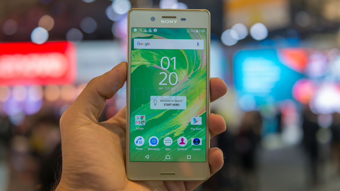 Sony Xperia X Hands On and Photo Gallery