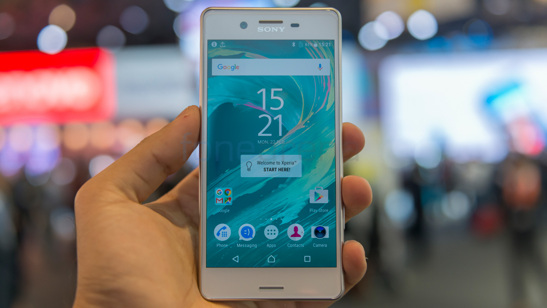 Sony Xperia X Performance Hands On and Photo Gallery