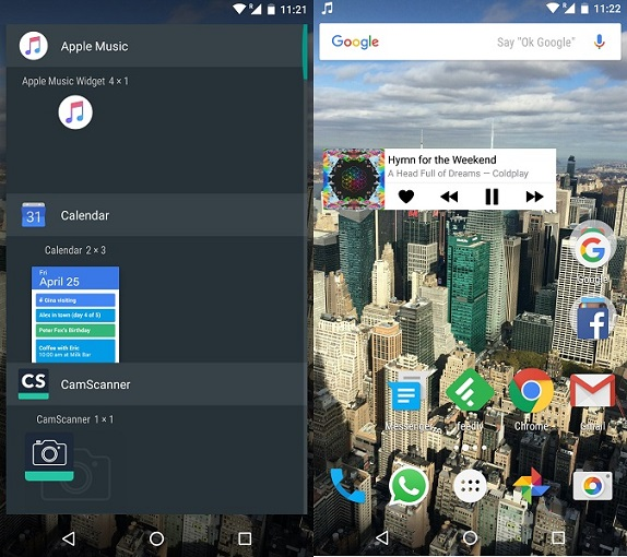 Apple Music for Android gets homescreen widget for playback
