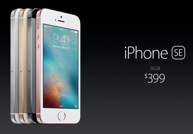 Apple iPhone SE price