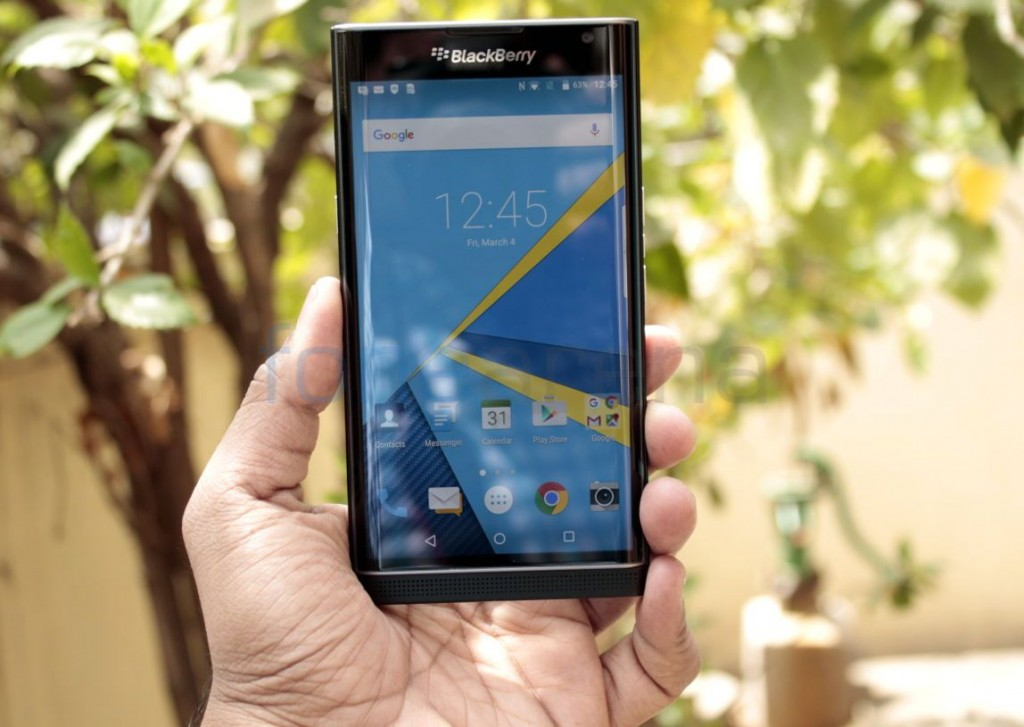 BlackBerry Priv gets Android 6 0 Marshmallow update with several new