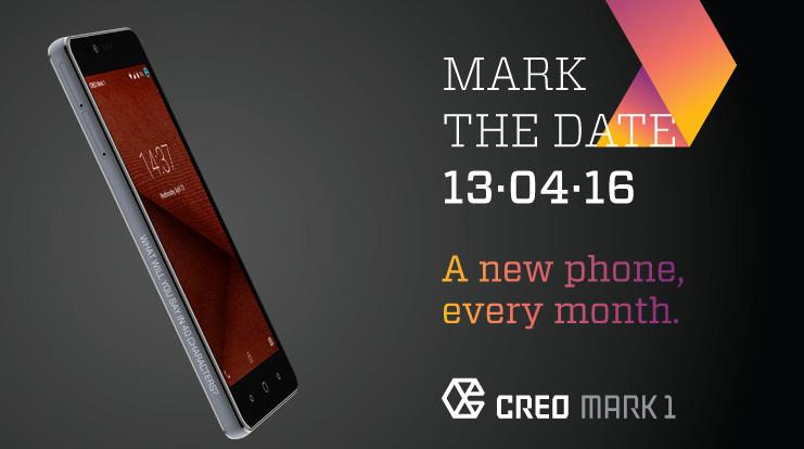CREO Mark 1 launch invite