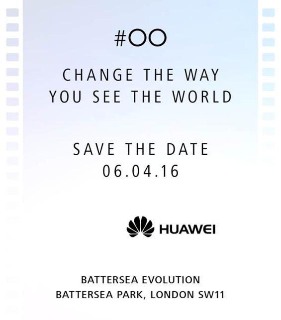 Huawei P9 launch invite