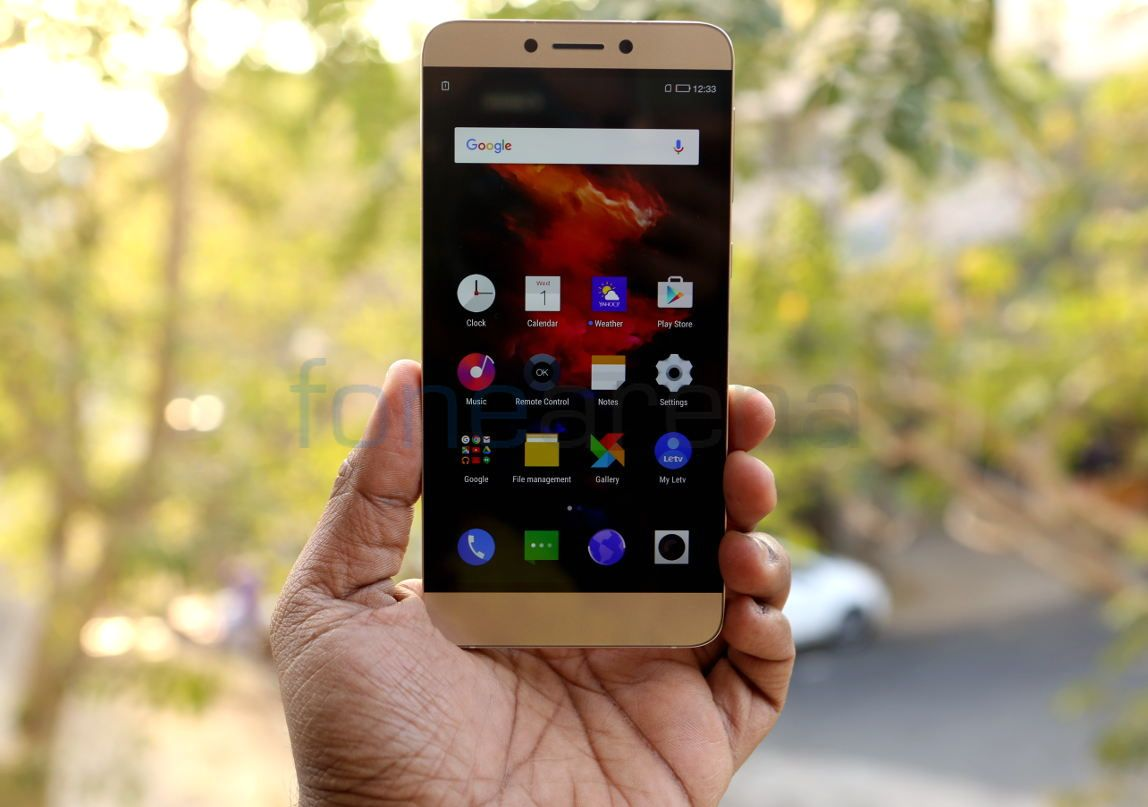 LeEco Le 1S Gold Photo Gallery