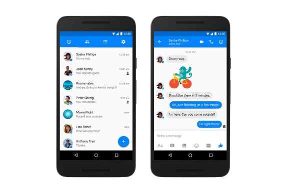 facebook Messenger android MD