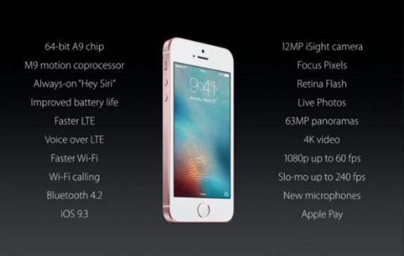 iPhoneSE-Specs