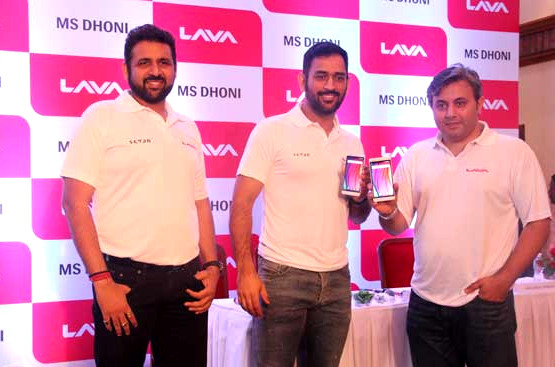 Dhoni Lava Brand Ambassador