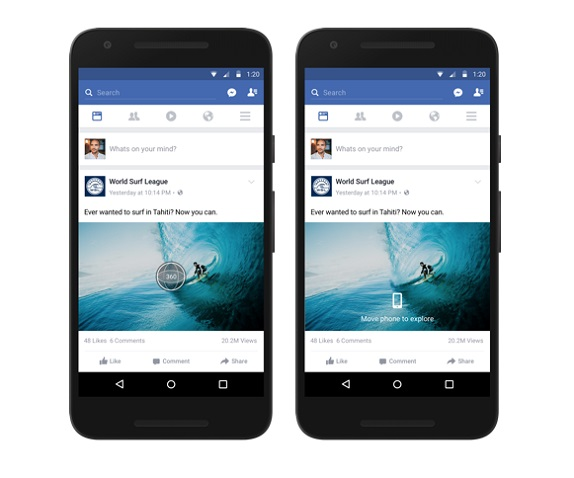FB 360 videos