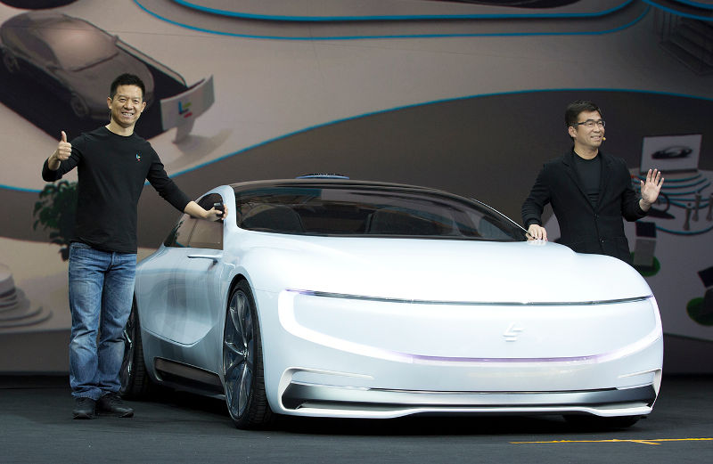 LeEco LeSEE announcement
