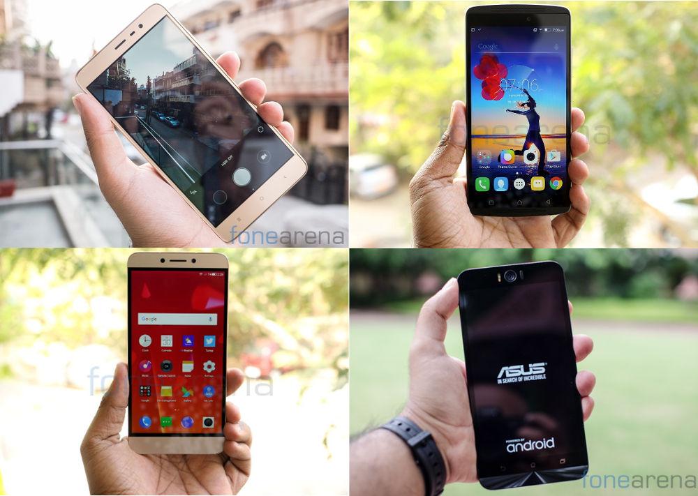Top phones under Rs. 15000