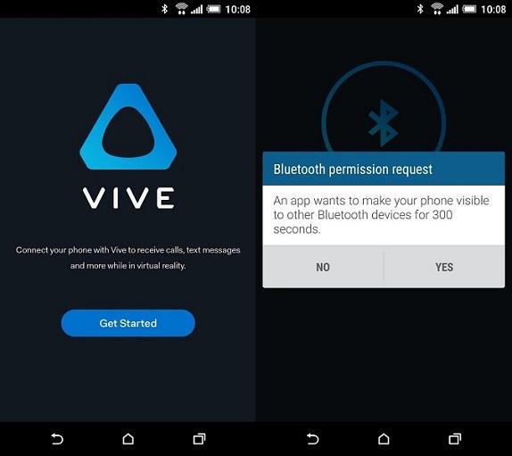 Vive Companion app