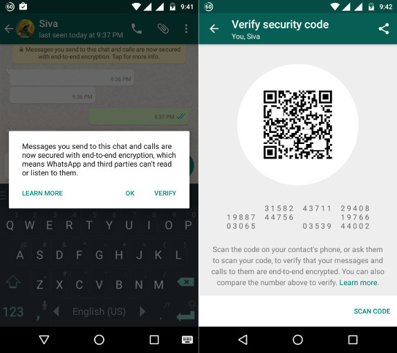 Image result for content is encrypted on whatsapp