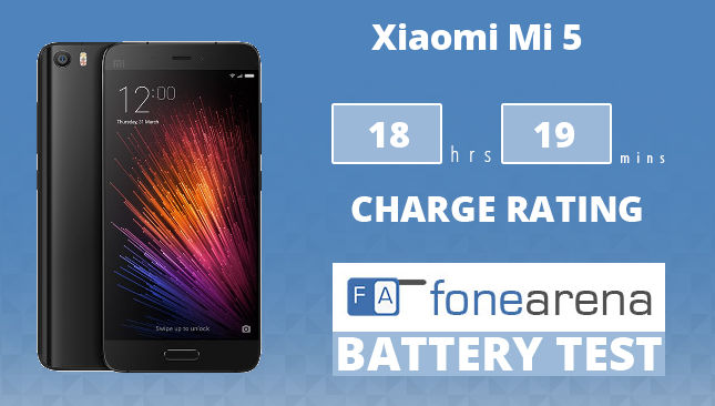 Xiaomi Mi 5 FA One Charge Rating