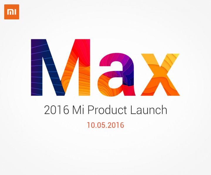 Xiaomi Mi Max invite