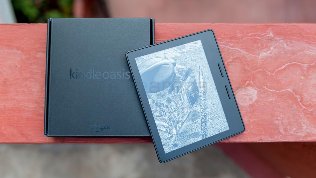 Amazon Kindle Oasis Unboxing