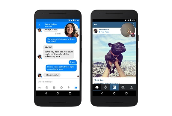 fb messenger video chat heads