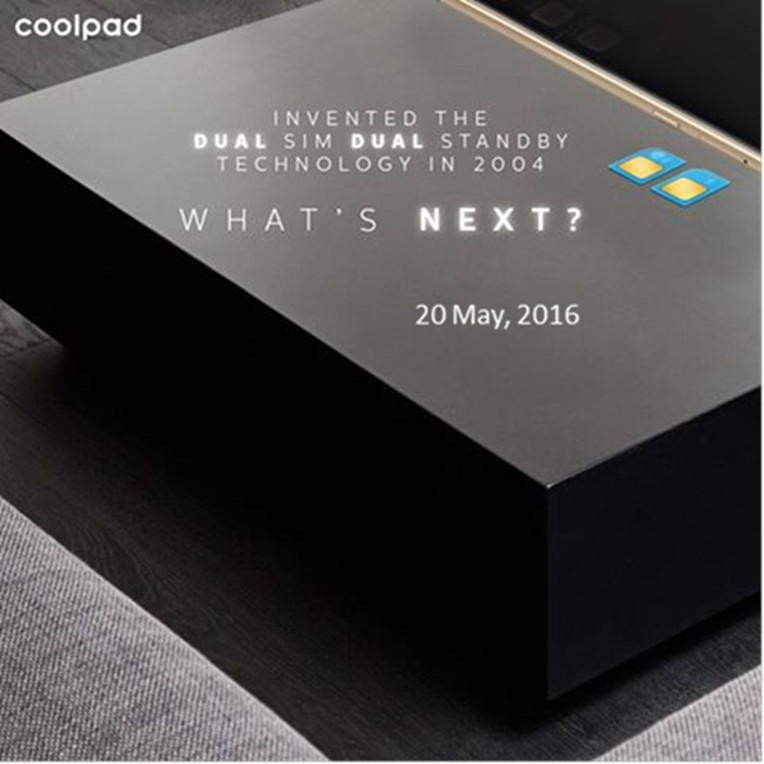 Coolpad Max India launch invite