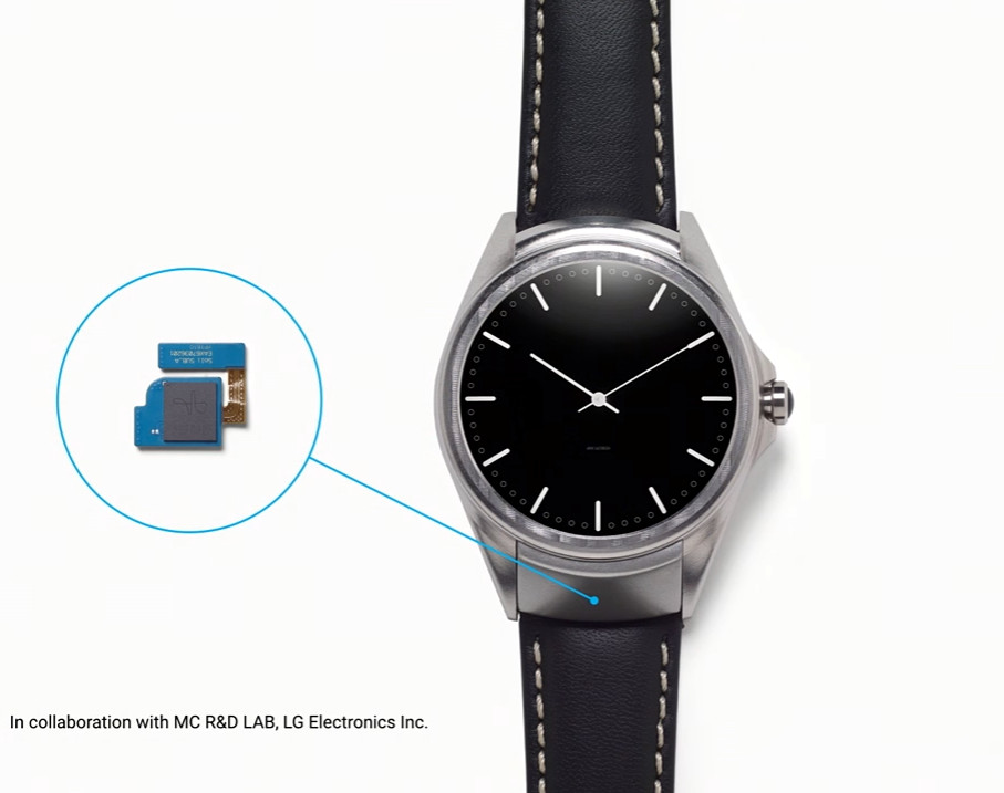 Google LG Smartwatch Project Soli