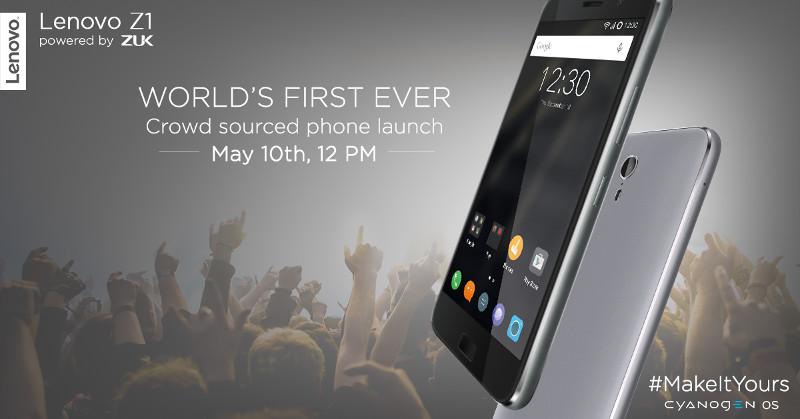 Lenovo Z1 India launch invite