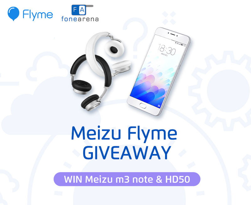 Meizu m3 note and HD50 giveaway