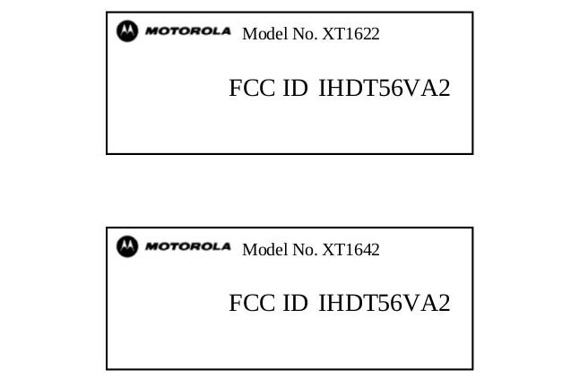 Moto G4 FCC