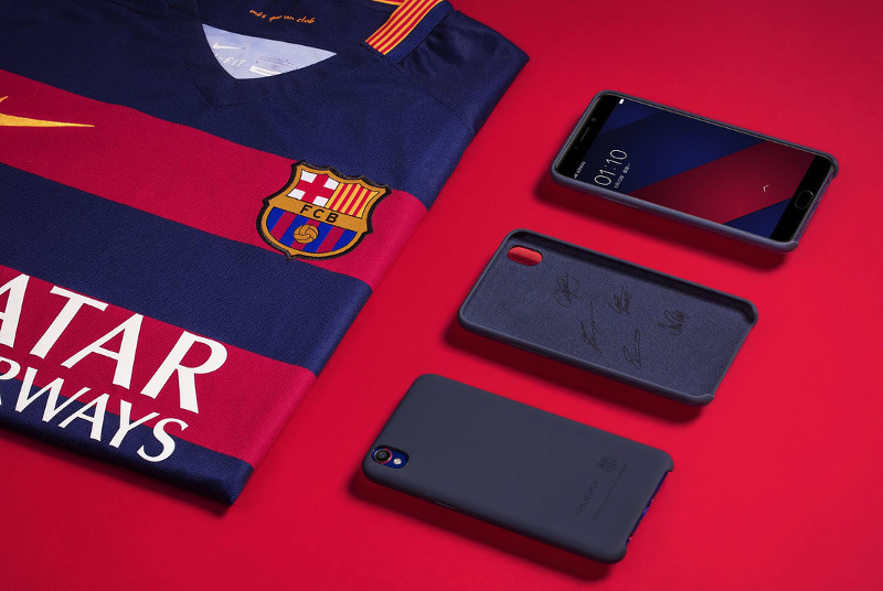 OPPO F1 Plus FC Barcelona Edition pack
