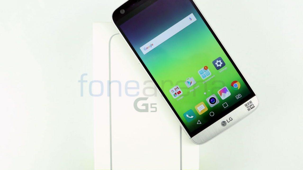 LG G5 Unboxing