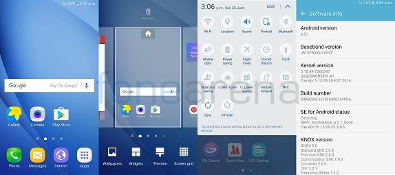 Samsung Galaxy J5 (2016) screens6