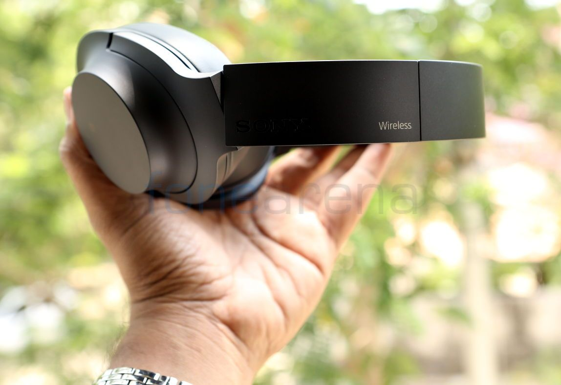 Sony Hear On Wireless Noise Cancelling Headphones Mdr 100abn Unboxing Headphone Mdr100abn Bluetooth Promises Up To 20 Hours Of Battery Life A Single Charge The Ear Nc Is Priced At Rs 21990