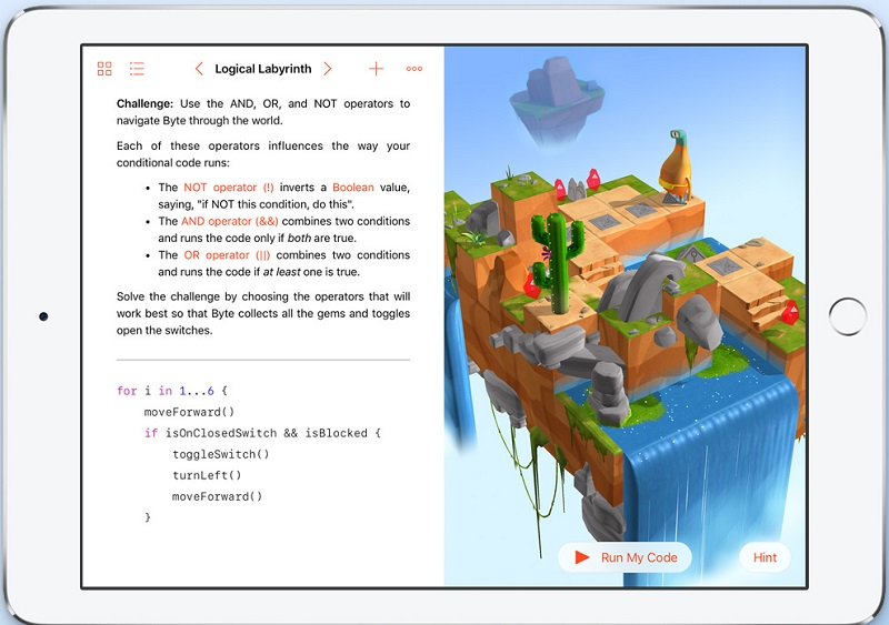 Swift Playgrounds Preview Apple