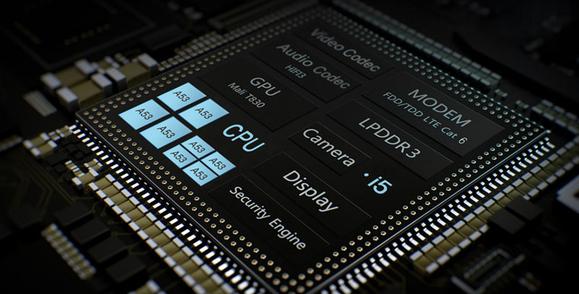 kirin_650_processor_layout