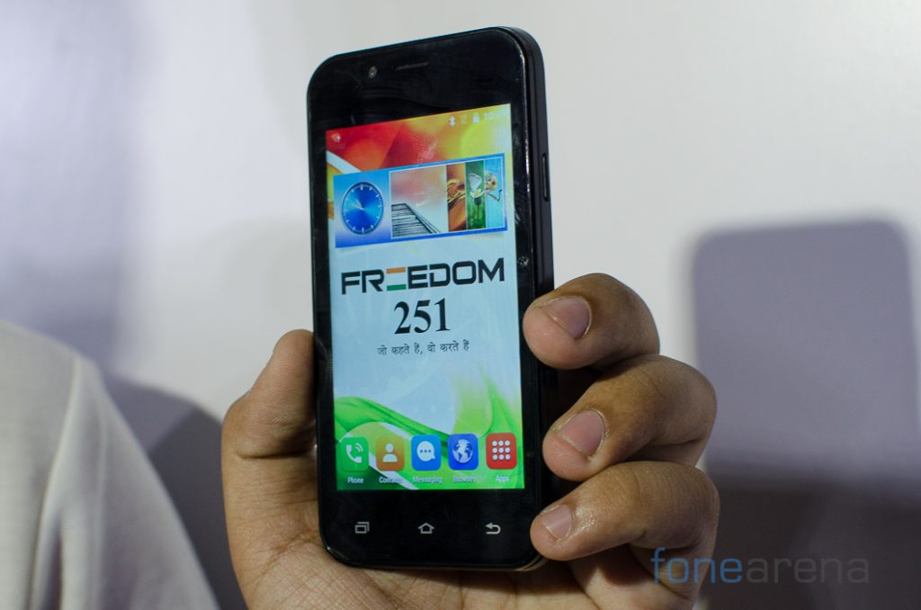 Freedom 251 Hands On -1
