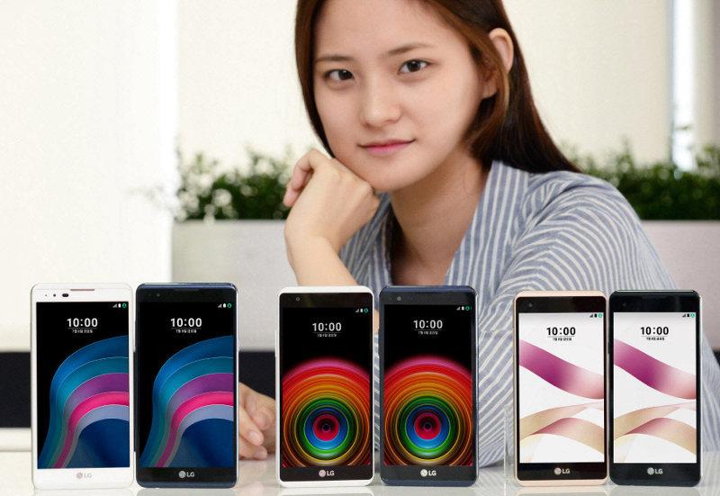 LG X5, X Power, X Skin