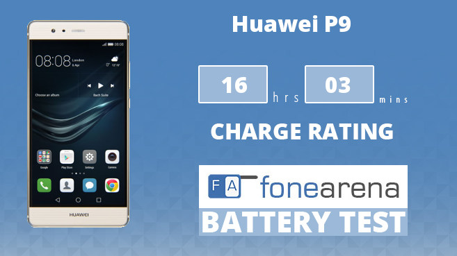 Huawei P9 FA One Charge Rating