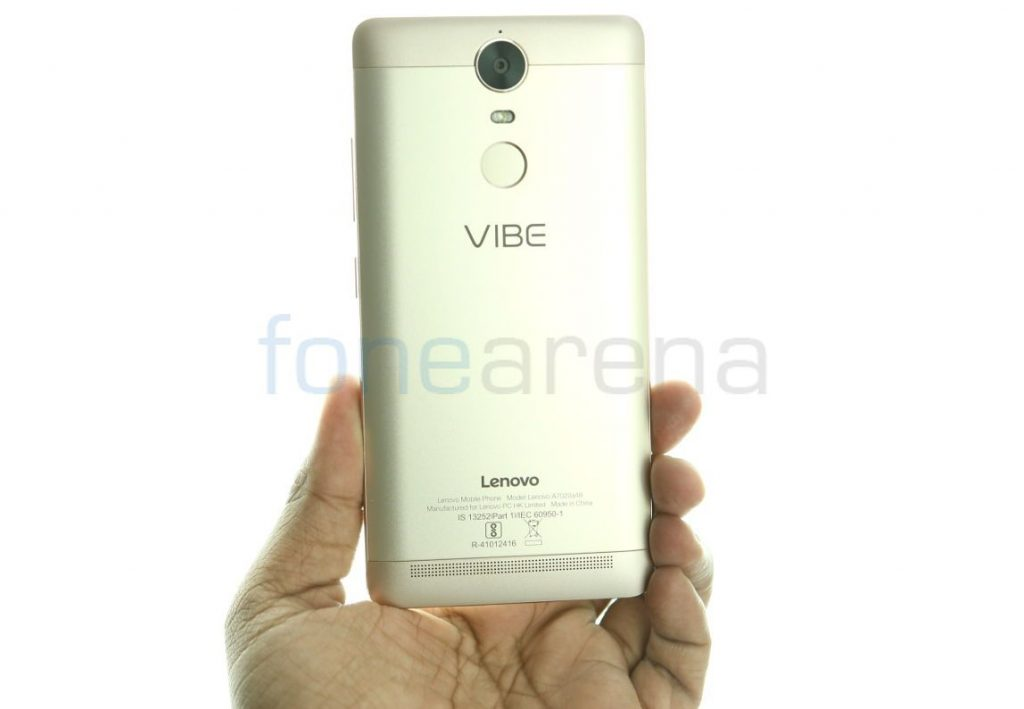 Lenovo Vibe K5 Note 4GB RAM with 64GB storage variant