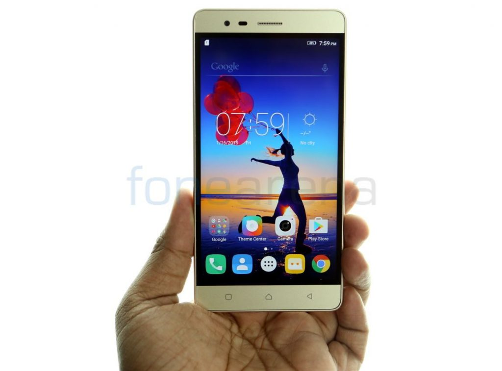 f75964e97cee90 Lenovo Vibe K5 Note 4GB RAM with 64GB storage variant launched for Rs. 13499