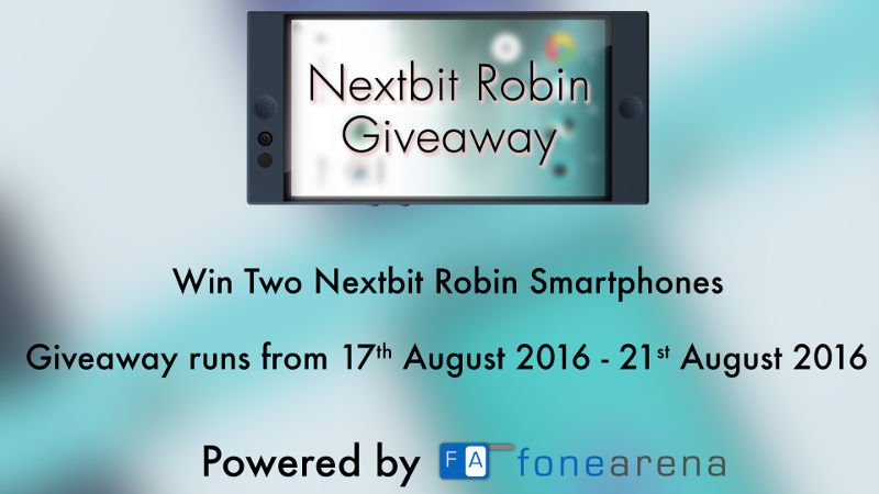 Nextbit Robin Giveaway