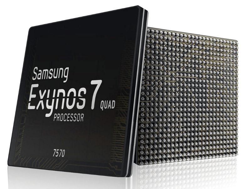 Samsung Exynos 7 Quad 7570 14nm Processor Mass Production Begins