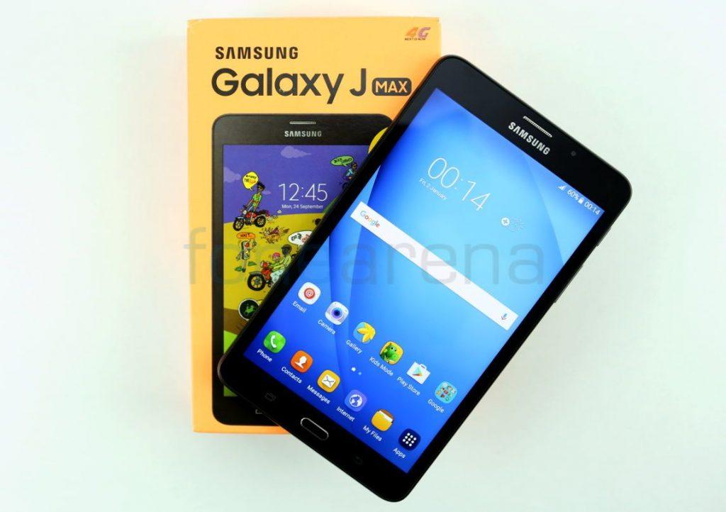 Samsung Galaxy J Max Unboxing