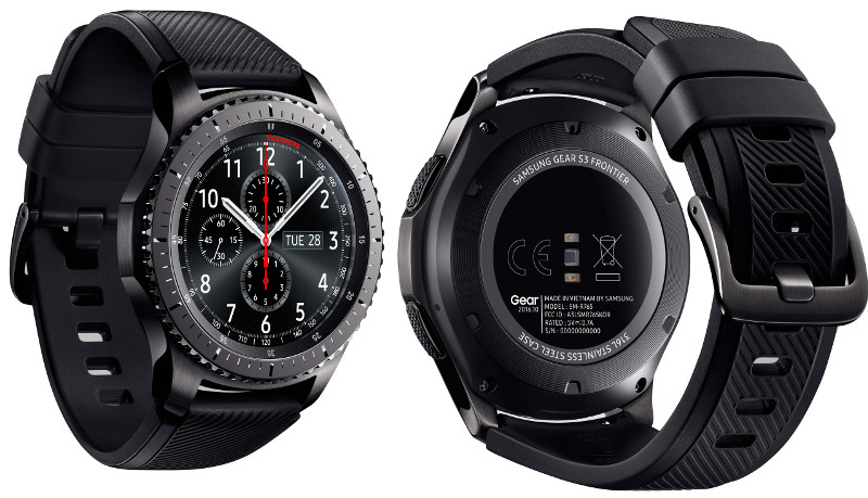 Samsung Gear S3 classic and Gear S3 frontier announced at IFA 2016 22e65ad4097