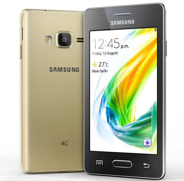 Samsung Z2 Tizen Powered Smartphone With 4g Volte Launched In India For Rs 4590