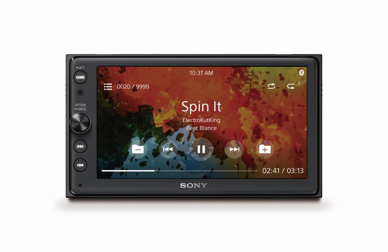 Sony in-car