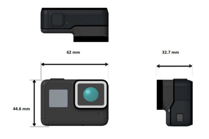 GoPro Hero 5 live images, specs and user manual surface