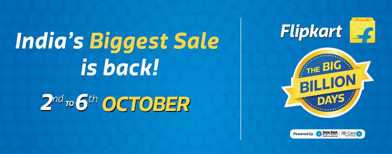 Online Shopping Sale: Flipkart's Big Billion Day Sales starts October 2. Image Courtesy: Fonearena