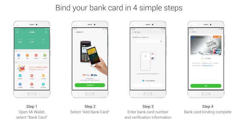 Xiaomi Mi Pay Card Binding process