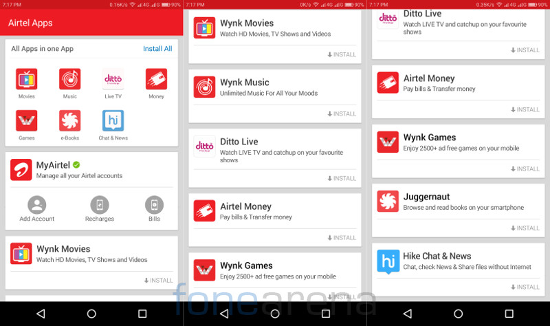 MyAirtel App for Android and iPhone updated with 'Airtel