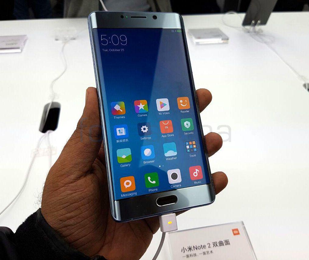 Xiaomi Mi Note 2, Mi MIX announced, WhatsApp video call for Android