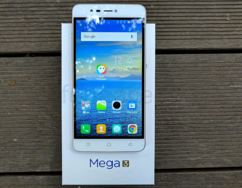 Coolpad Mega 3 with 5 5-inch HD display, Triple SIM support